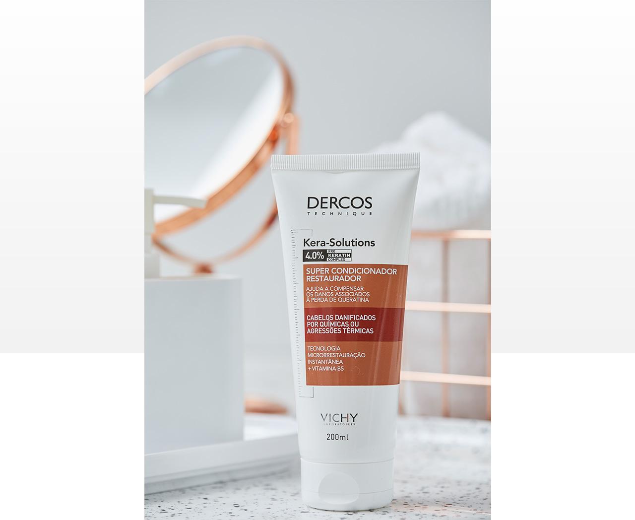 Dercos Kera-Solutions Máscara Reparadora – 200ml