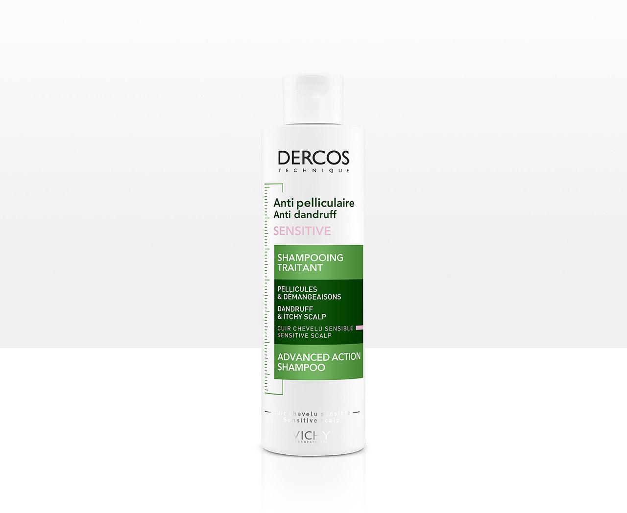 Shampoo anticaspa para el cuero cabelludo sensible