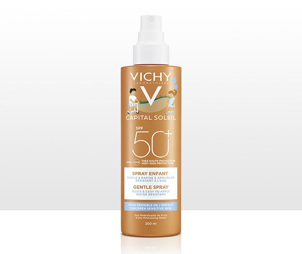 Spray Suave Niños rostro y cuerpo FPS 50+