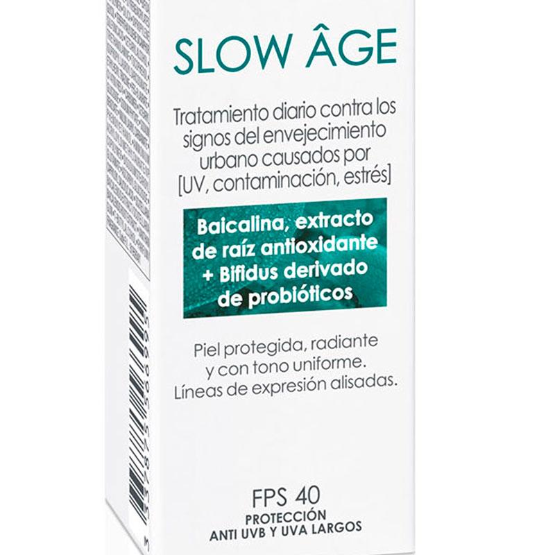 Slow Âge Fluido diario con FPS 40: Líneas de expresión