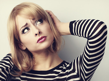 Los 4 signos de un cuero cabelludo sensible
